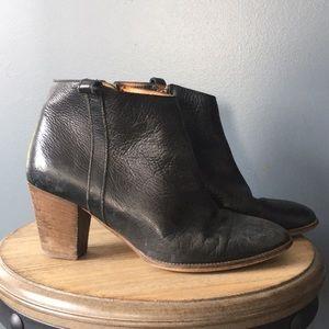 Madewell Black leather Billie boot 9.5